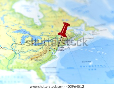 map usa pin set on new stock photo edit now 403964512 shutterstock