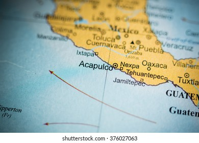 Royalty Free Acapulco Map Stock s & Vectors