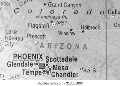 Map view of Arizona State