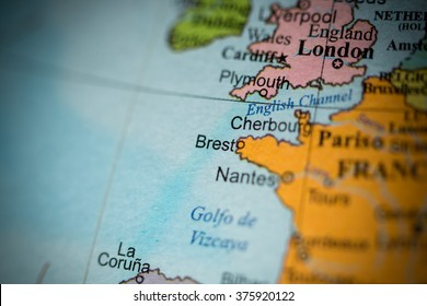 Brest Map Images Stock Photos Vectors Shutterstock