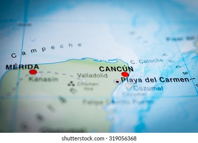Map Cancun Mexico Images Stock Photos Vectors Shutterstock