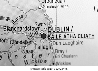 Map view of Dublin