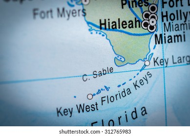 Map Of Florida Key West.Florida Keys Map Images Stock Photos Vectors Shutterstock