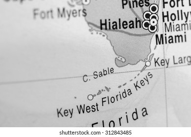 Map Of Florida Keys And Miami.Florida Keys Map Images Stock Photos Vectors Shutterstock