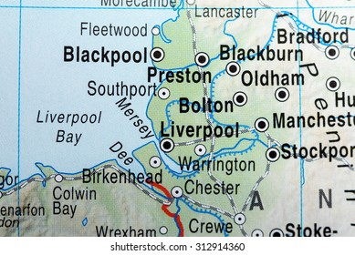 Map view of Liverpool
