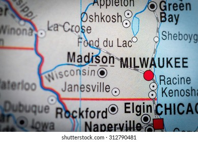 Map view of Milwaukee. (vignette)