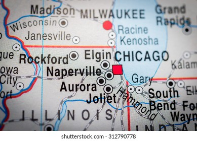 Subway Map Naperville.Similar Images Stock Photos Vectors Of Map View Of Chicago