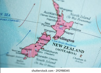 New Zealand On The Map.New Zealand Map Images Stock Photos Vectors Shutterstock