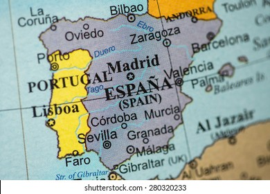 Map Of South Spain.South Spain Map Stock Photos Images Photography Shutterstock
