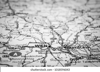 map of the wien