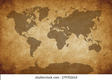 Pirate World Map.Vintage Pirate World Map Stock Photos Images Photography