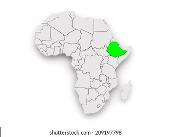 Ethiopia map images stock photos vectors shutterstock map of worlds ethiopia 3d gumiabroncs Gallery