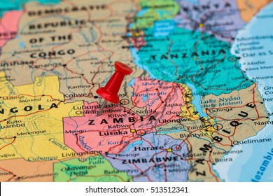 Zambia Map Images, Stock Photos & Vectors | Shutterstock on