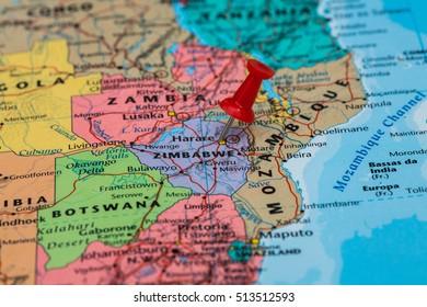 Royalty-Free Zimbabwe Map Stock Images, Photos & Vectors ...