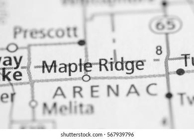 Maple Ridge. Michigan. USA
