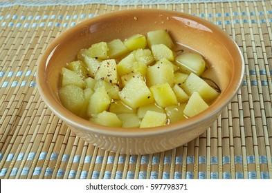 Maple-Glazed Rutabaga.Finnish cuisine