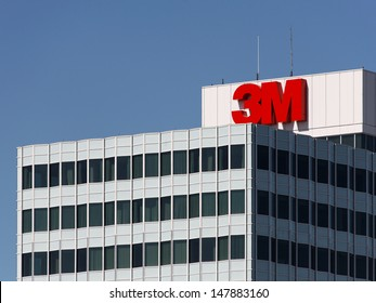 MAPLEWOOD, MN � MAY 31: The 3M World Headquarters complex on May 31, 2013. 3M is an American multinational conglomerate corporation primarily known for adhesive related products.