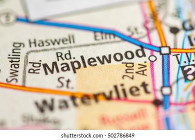 Maplewood. New York (State). USA.