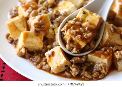 Mapo tofu, chinese dishes