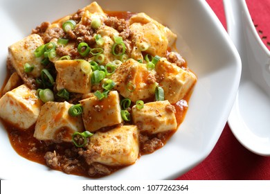Mapo tofu(doufu), szechuan style spicy tofu
