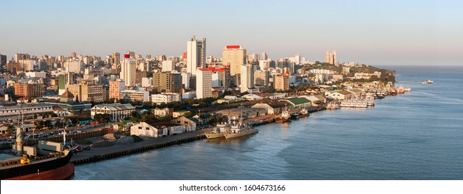 Maputo downtown cityscape, capital city of Mozambique, Africa