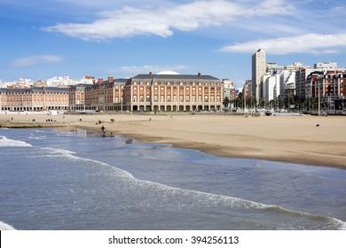 Mar del Plata City in Argentina