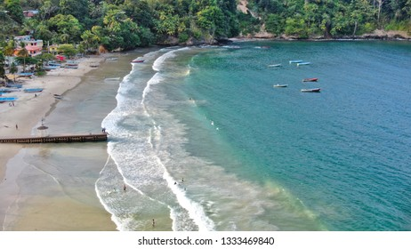Maracas Bay Fishing Boats, Trinidad, Beach