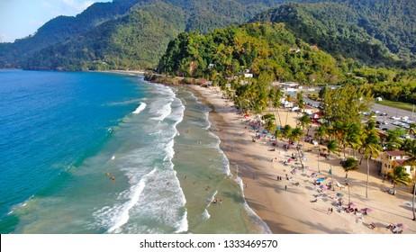 Maracas Beach, Maracas Bay , Trinidad & Tobago