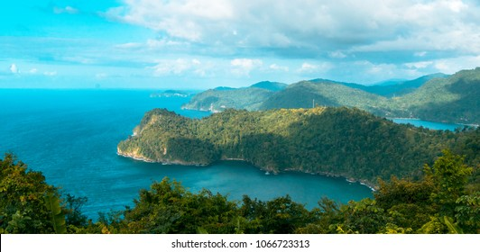 Maracas beach lookout Trinidad and Tobago
