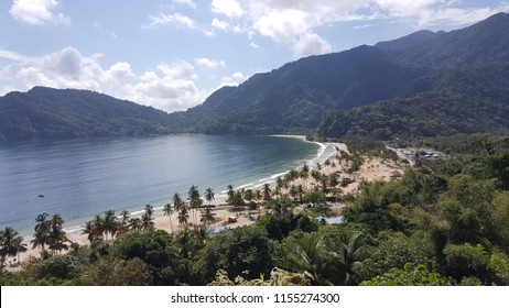 Maracas Beach, Trinidad and Tobago.