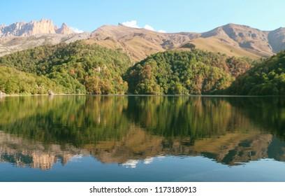 maral gol lake azerbaijan