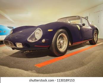 MARANELLO, ITALY-JULY 21, 2017: 1962 Ferrari 250 GTO in the Ferrari Museum.