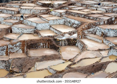 Maras is a town in the Sacred Valley of the Incas (Urubamba Valley), in the Cuzco district, in Peru. The salt is obtained since pre-Inca times by evaporating salty water from a stream.