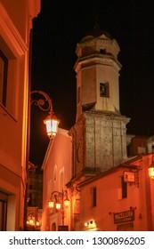 AT MARATEA - ITALY - ON 04/11/2009 - Historic center of Maratea, picturesque town in Basilicata, Italy
