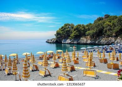 AT MARATEA - Italy - ON 06/05/2017 - Paradisiac  beach of Macarro at Maratea, Basilicata, Italy