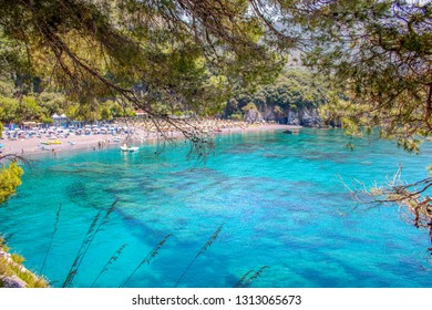 AT MARATEA - Italy - ON 06/05/2017 - Paradisiac  beach of Macarro at Maratea, Basilicata, Italy