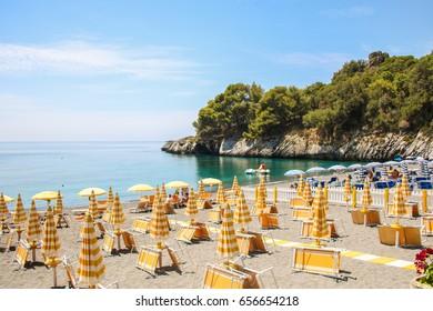 AT MARATEA - ON 06/05/2017 - Paradisiac  beach of Macarro at Maratea, Basilicata, Italy