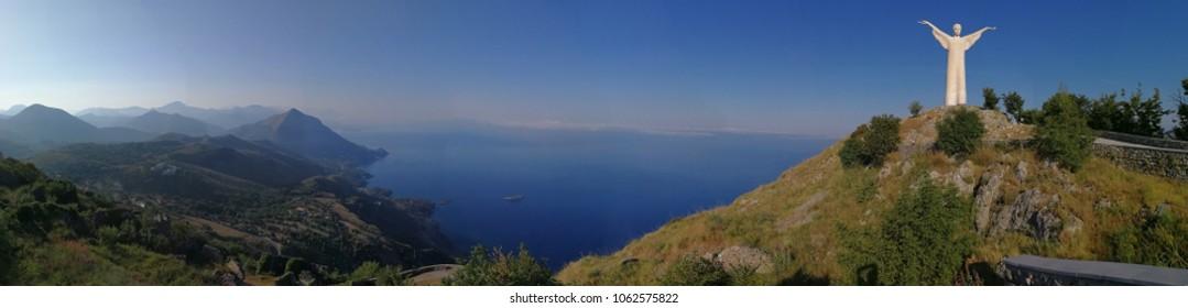 Maratea - Panoramic photo from Mount San Biagio.