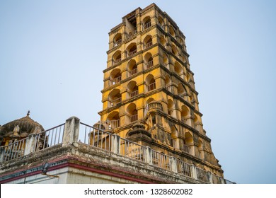 Maratha Palace is a Art museum Gallery in Thanjavur, Tamil Nadu - South India