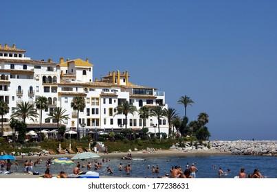 Marbella beach, Andalusia, Spain