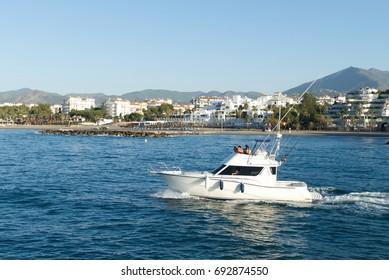 Marbella Fishing Boat - Big Game Fishing