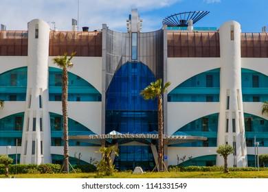 Marbella, Spain - May 1, 2018: Senator banus spa hotel.