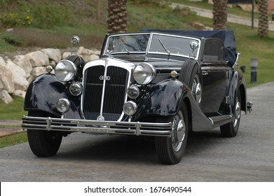Marbella, Málaga, Spain.12/04/2004.Horch 830 was a car brand manufactured in Germany by August Horch & Cie, at the beginning of the 20th century.