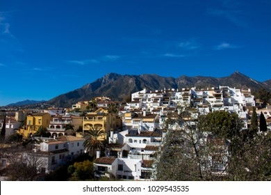 Marbella. View of Marbella. Picture taken – 14 february 2018.