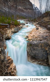 Marble Canyon in Kootenay National Park, British Columbia, Canada