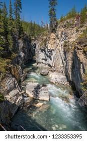 Marble Canyon Kootenay National Park British Columbia Canada
