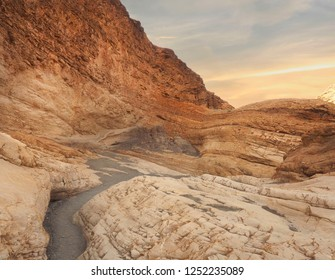 Marble Canyon at Sunset in Death Valley, California