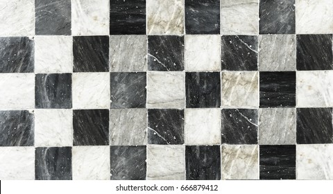 marble chess pattern on background