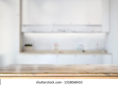 Marble counter table top in kitchen room