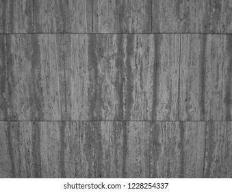 Marble Exterior Blocks with Tones of Black and White.